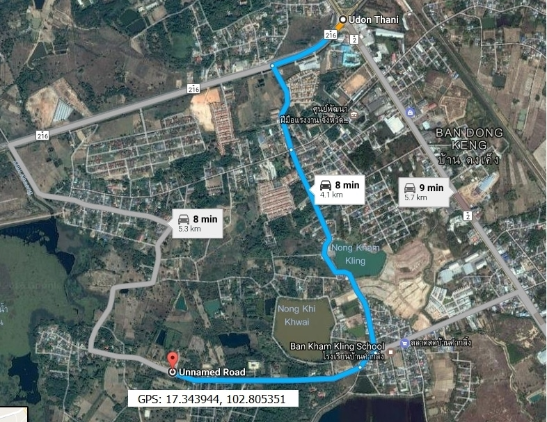UDON THANI – Perfect for New Home or Double Wide Shop House