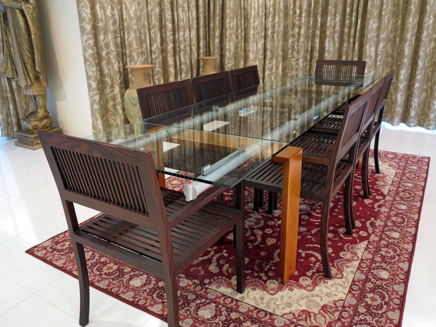 HUGE DIscount for 10 Luxury  Congo Rose Wood Chairs