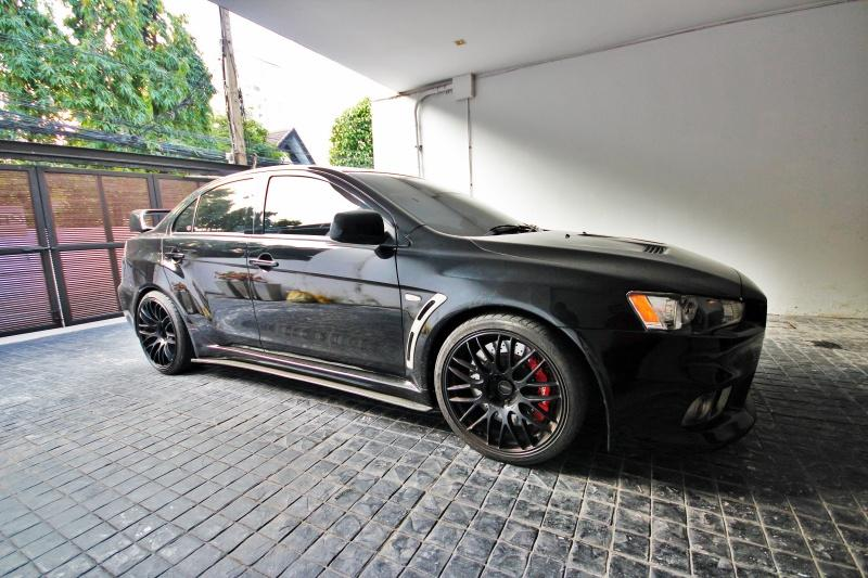 Lancer X 2.0 Turbo with tons of upgrade