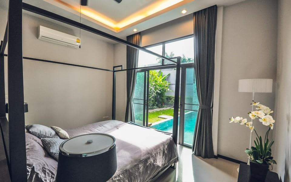 Modern 2 bedrooms villa with private pool fully furnished