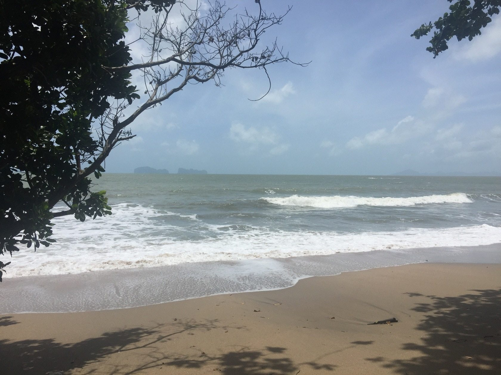 The beachfront land 3,5 rai on Koh Sukorn (Trang) for long-term rent