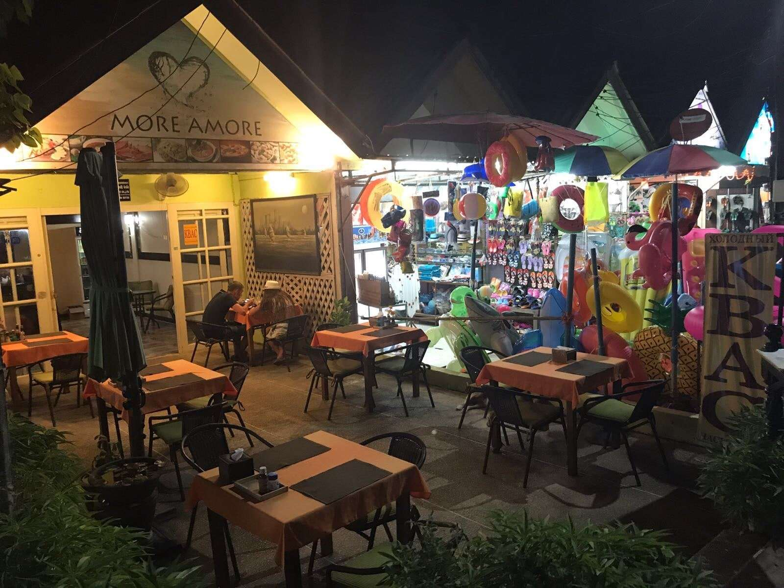 The restaurant at the NaiHarn beach for sale