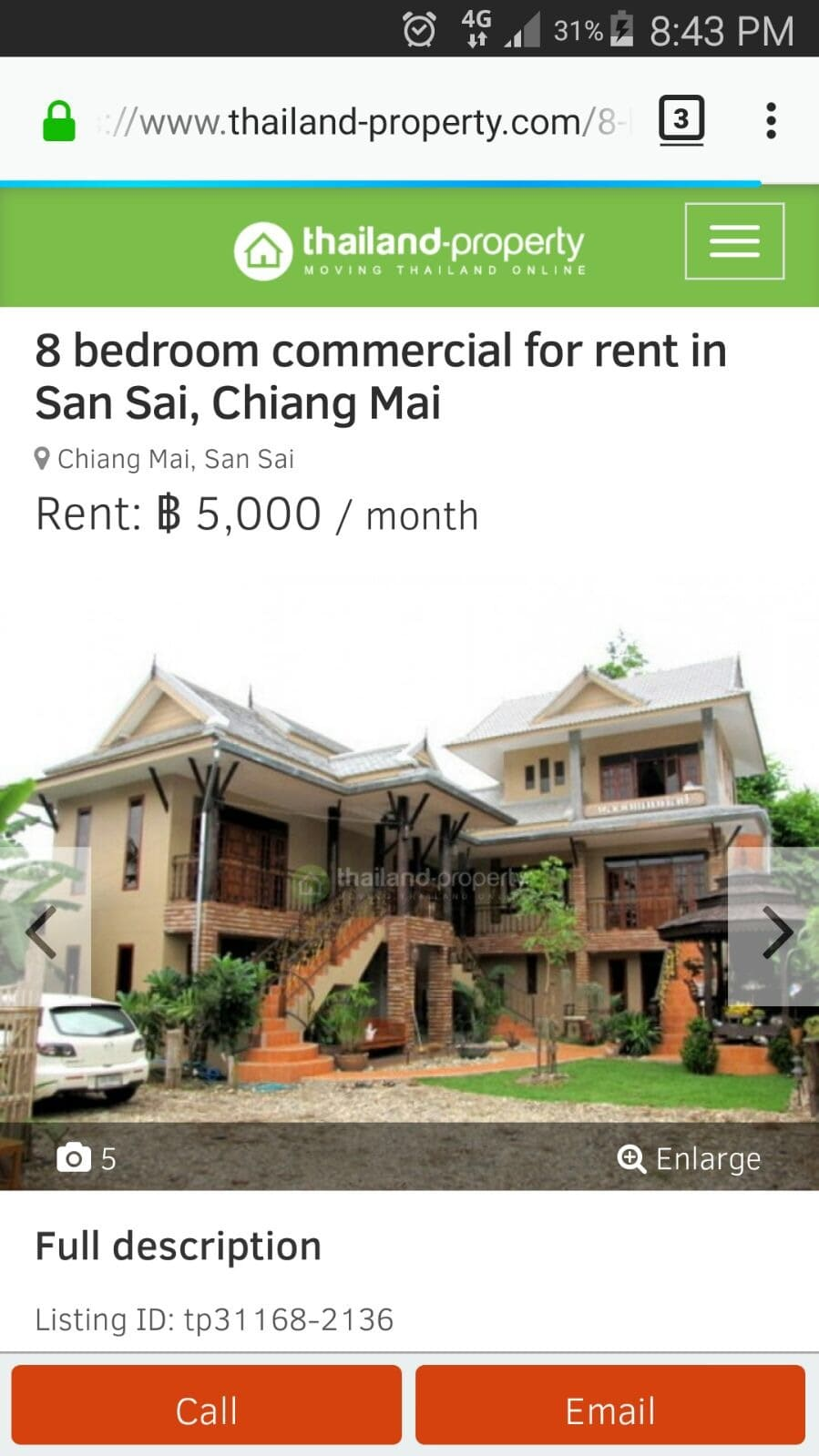 Phuket holiday and longterm rentals from private