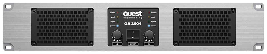 Quest Q2004 Amp – 2 x 870w (Club/Bar) for Sale