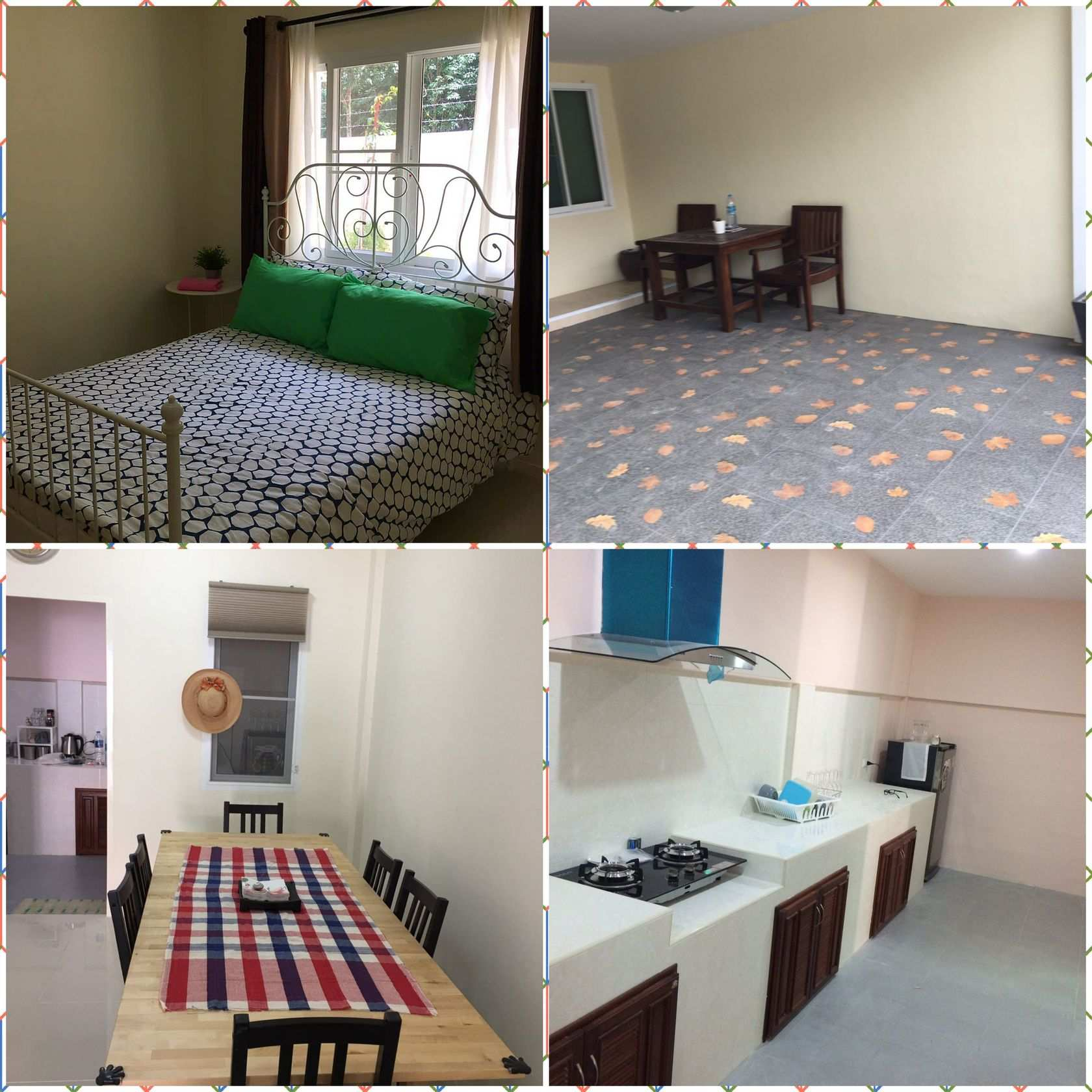 Available from december 31st 3 bedroom house In THALANG  for rent …..fully furnished fully aircon 15000 baht per month