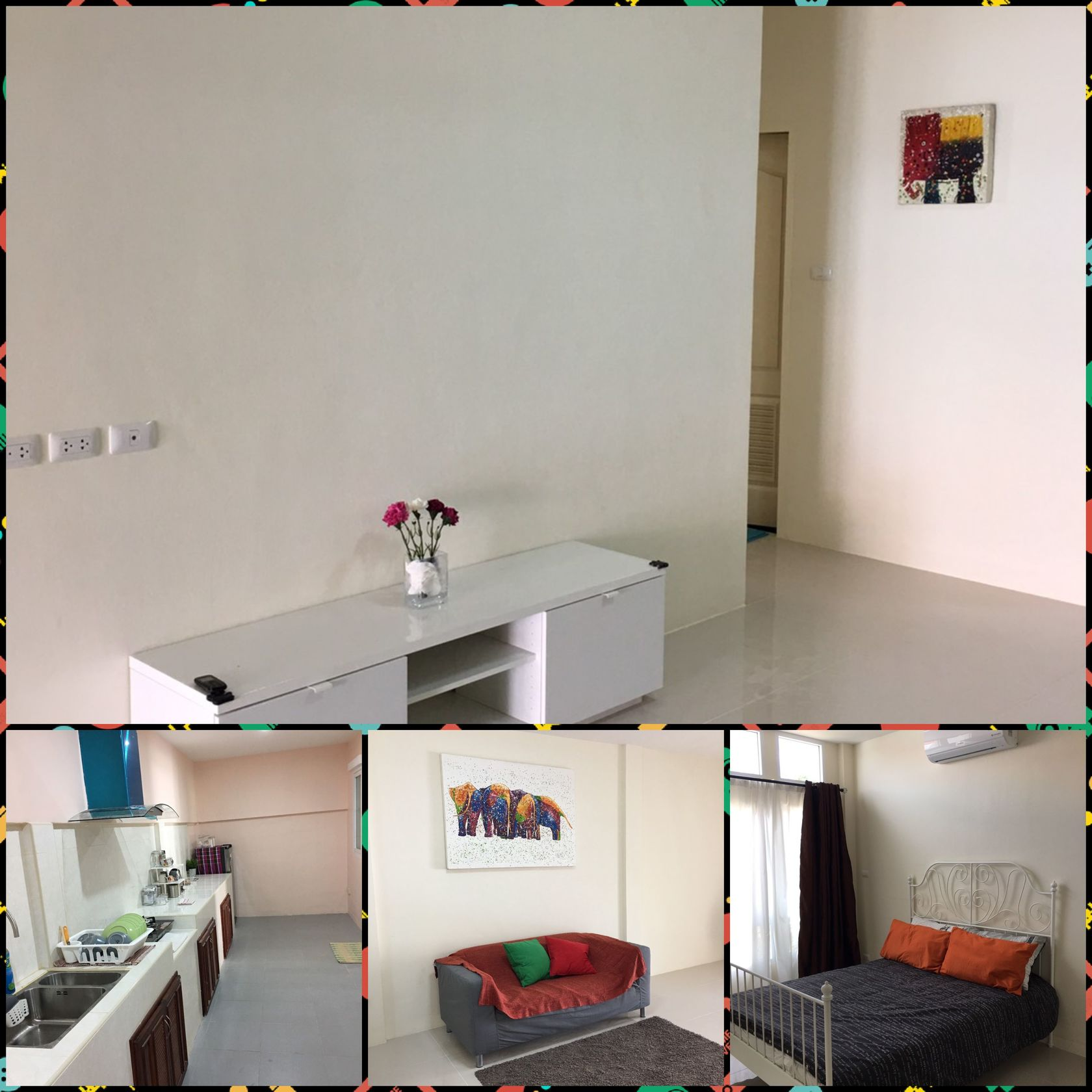 3 bedroom house In THALANG  for rent 6 months or more…..fully furnished fully aircon FIRST LET 15000 per month