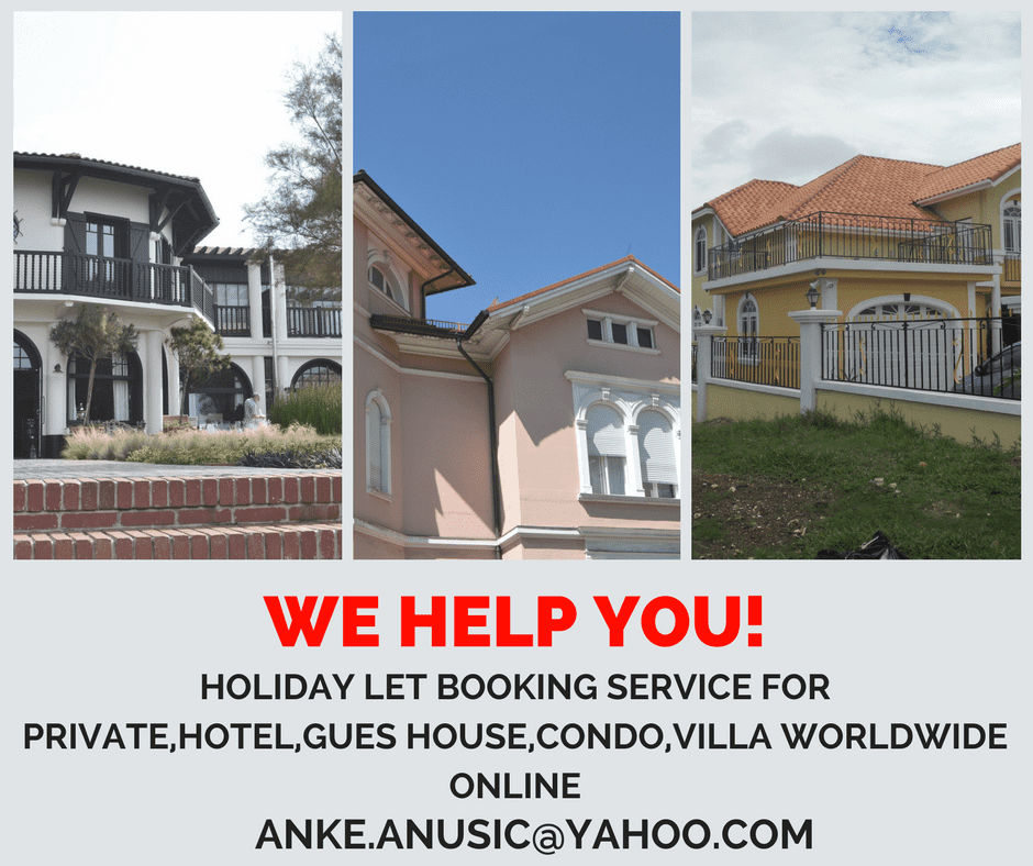 We advertise your holiday let rentals online