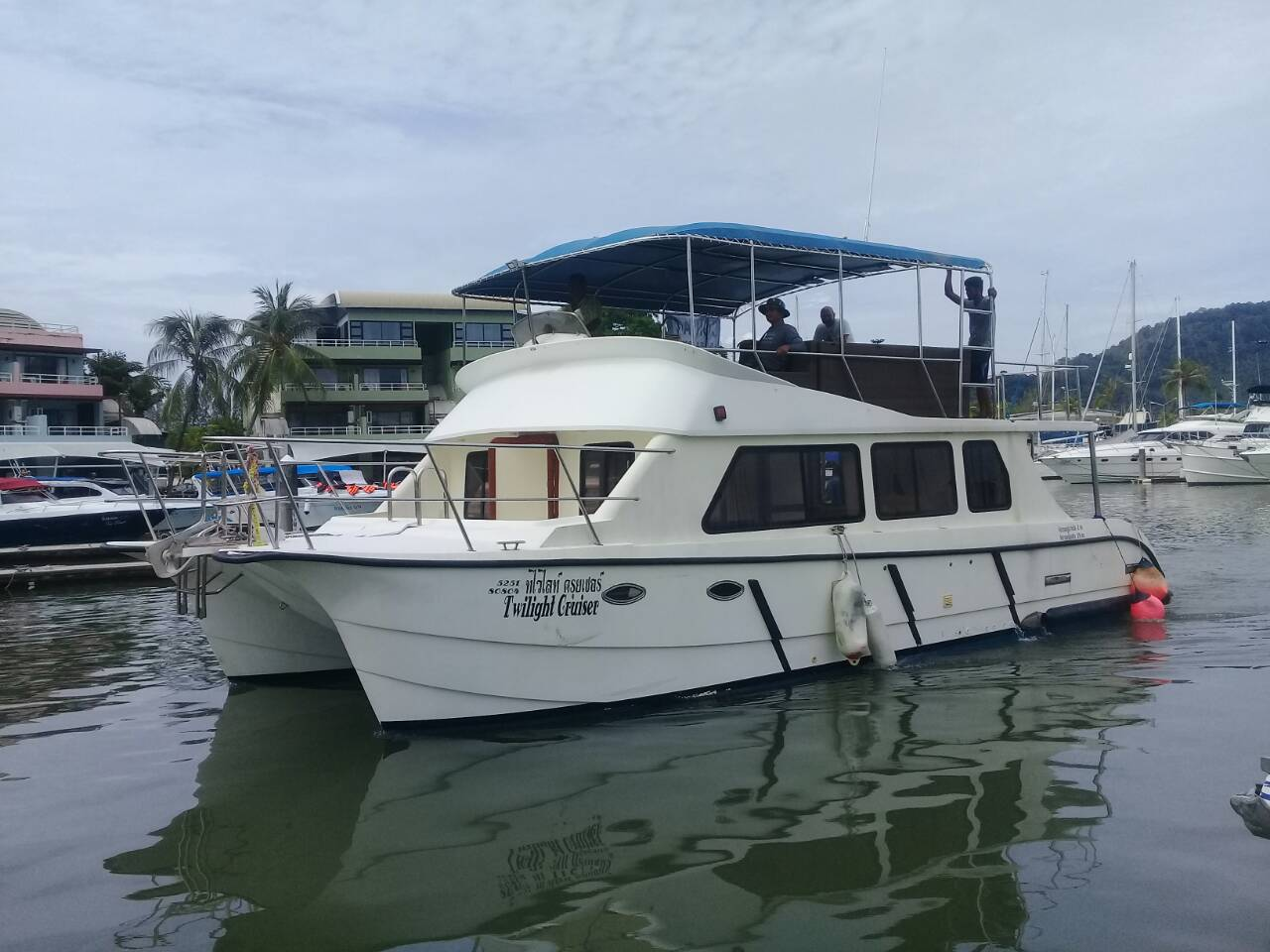 For sale 2 decked catamaran