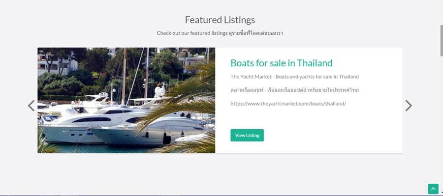 Thailand Business Directory website
