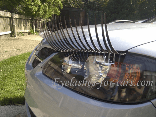Start your own Niche Car accessory business – Selling Car Eyelashes