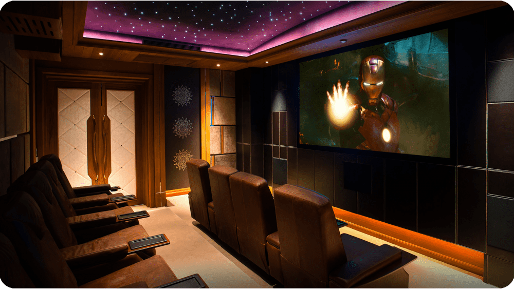 Smart Homes – Home Cinema, Multi Room Audio, Lighting Control and Home Automation.