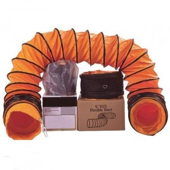 Flexible Duct: Size from 200mm to 800mm and Length of 5M, 10M.