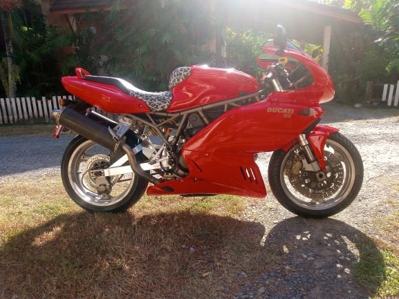 Ducati 900SS ie. Original Unique Classic Italian Sports Bike