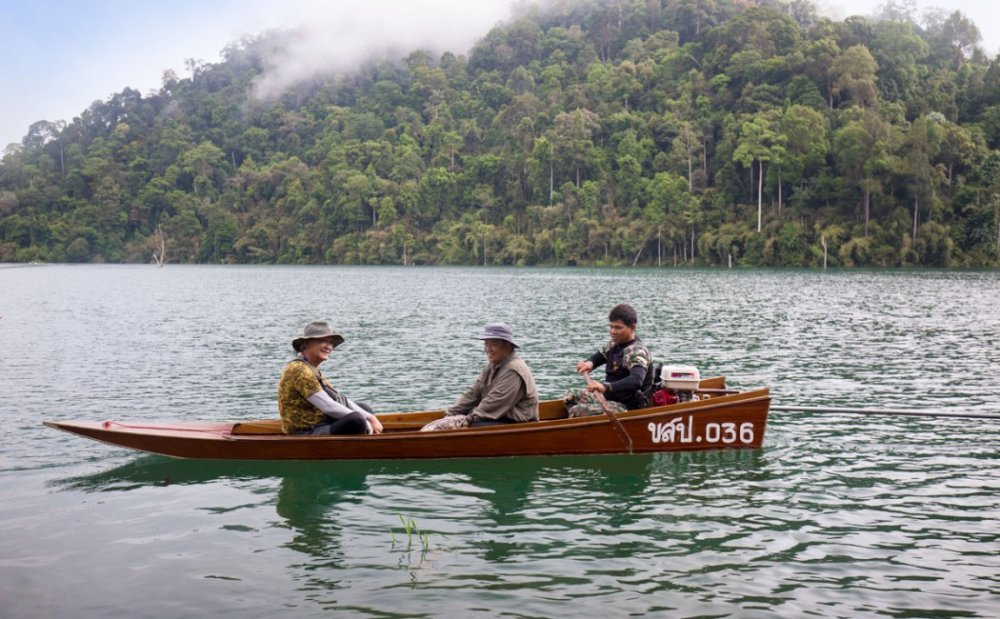 Fishing Tour On Khao Sok Lake In Thailand