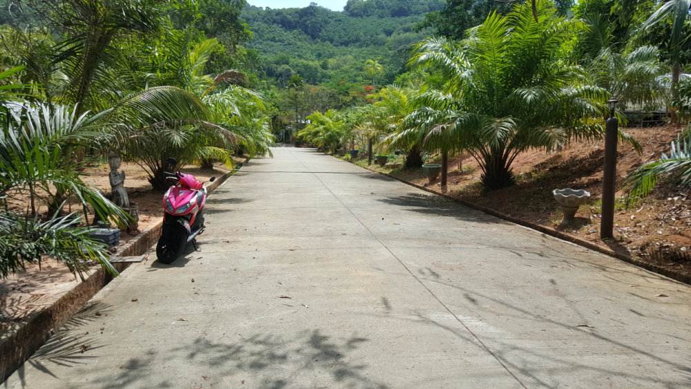 Stunning 1.684 sqm of sea view land in Phuket, Karon Beach