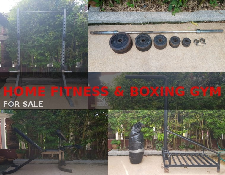Home Fitness & Boxing Gym