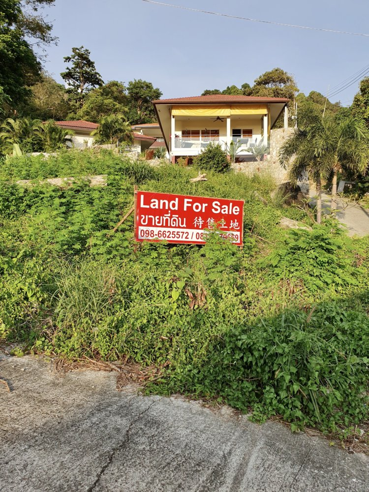 Karon Sea View Land For Sale including Thai Company