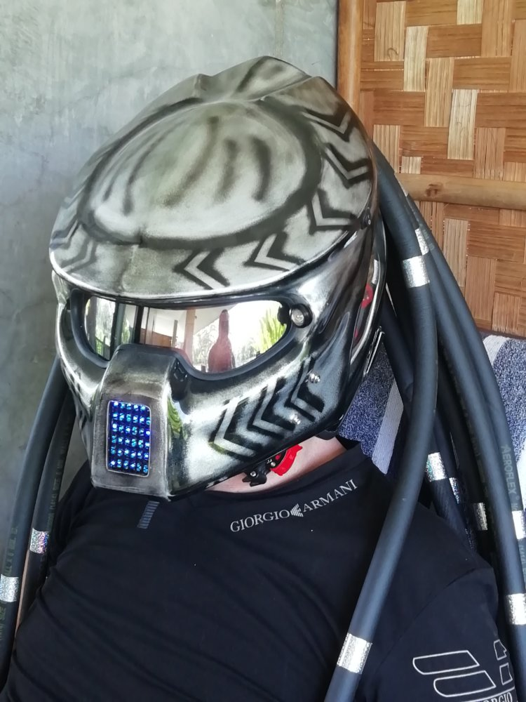 XL Predator Helmet and body armor