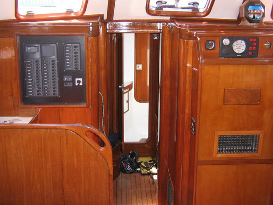 Wood Work for Boat