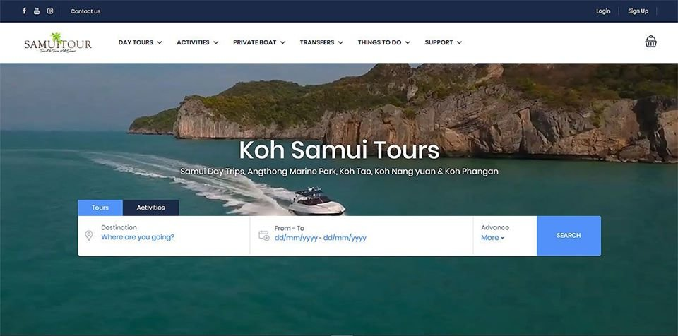 Kohsamuitour.com with booking engine site and documented bookings/sales is now for Sale!!