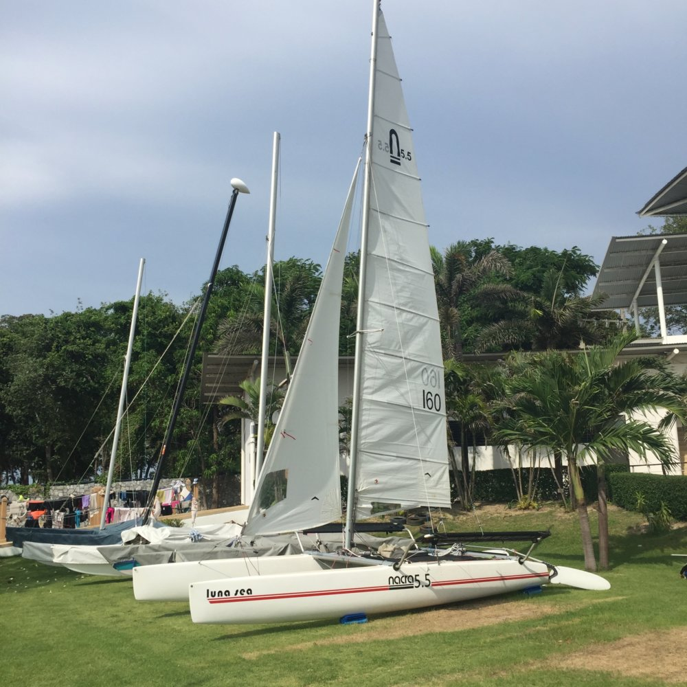 Nacra 5.5 Catamaran – For Sale Price: THB 59,000 – reduced from THB 75,000
