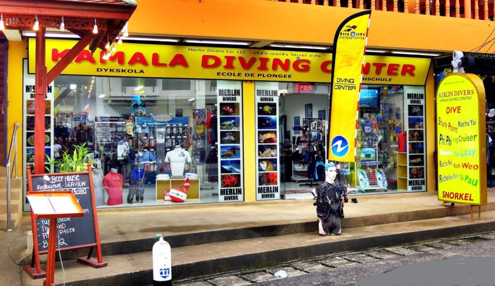 Scuba Diving Phuket – Merlin Divers