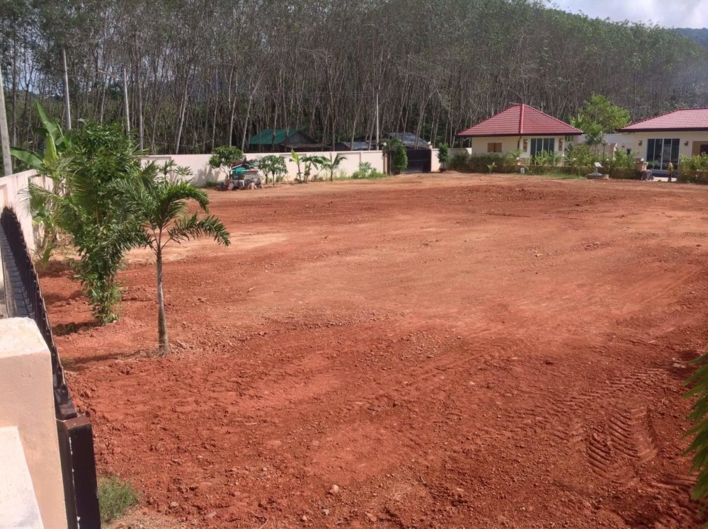 PHUKET 2 BUILDING PLOTS WITH PLANS AND PERMISSION TO BUILD