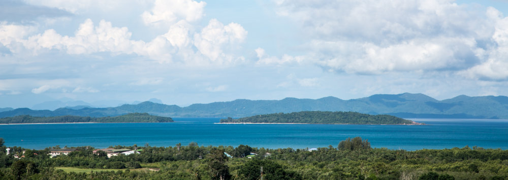 11,500,000 reduced 180º UNOBSTRUCTED SEA VIEW LAND 1 or 2 Rai (3100sqm) (Phuket)