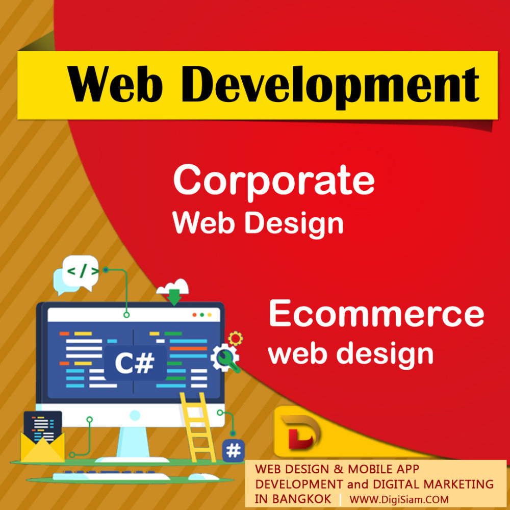 Website Design & Mobile App Development & Digital marketing in Bangkok