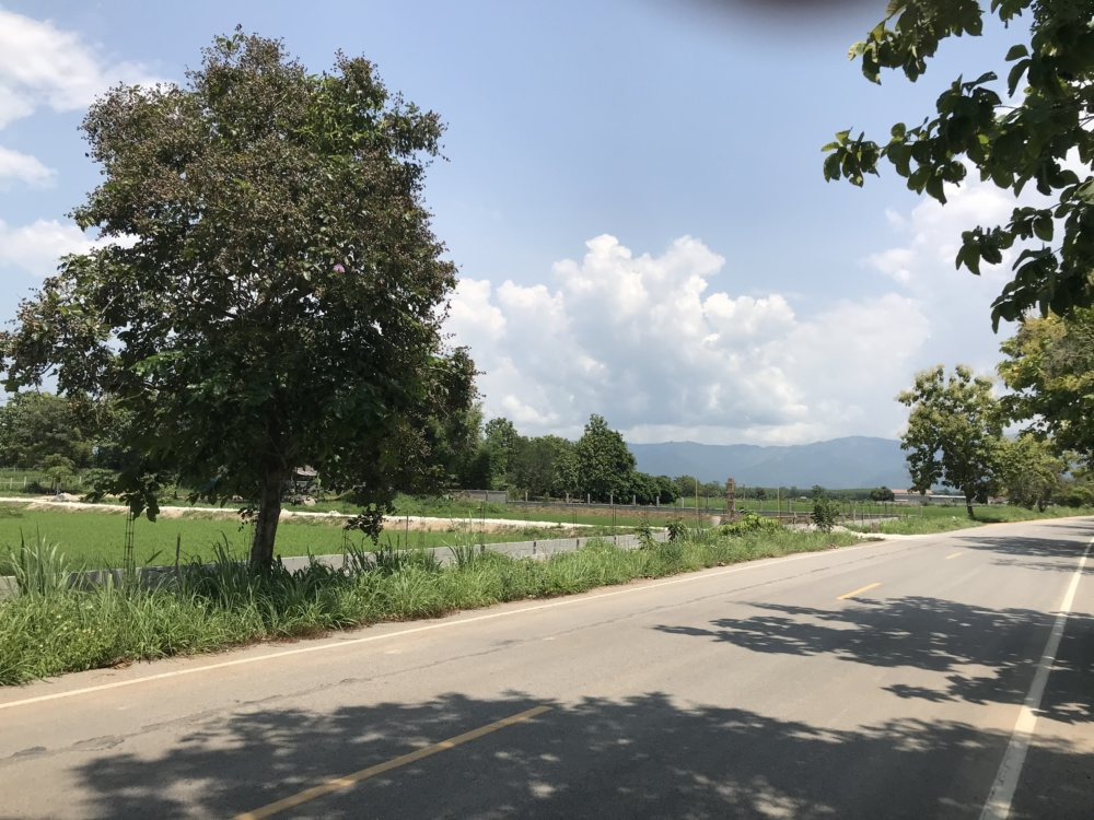 "Land For Sale Near New ""asia Silk Highway"" In Chiang Rai"