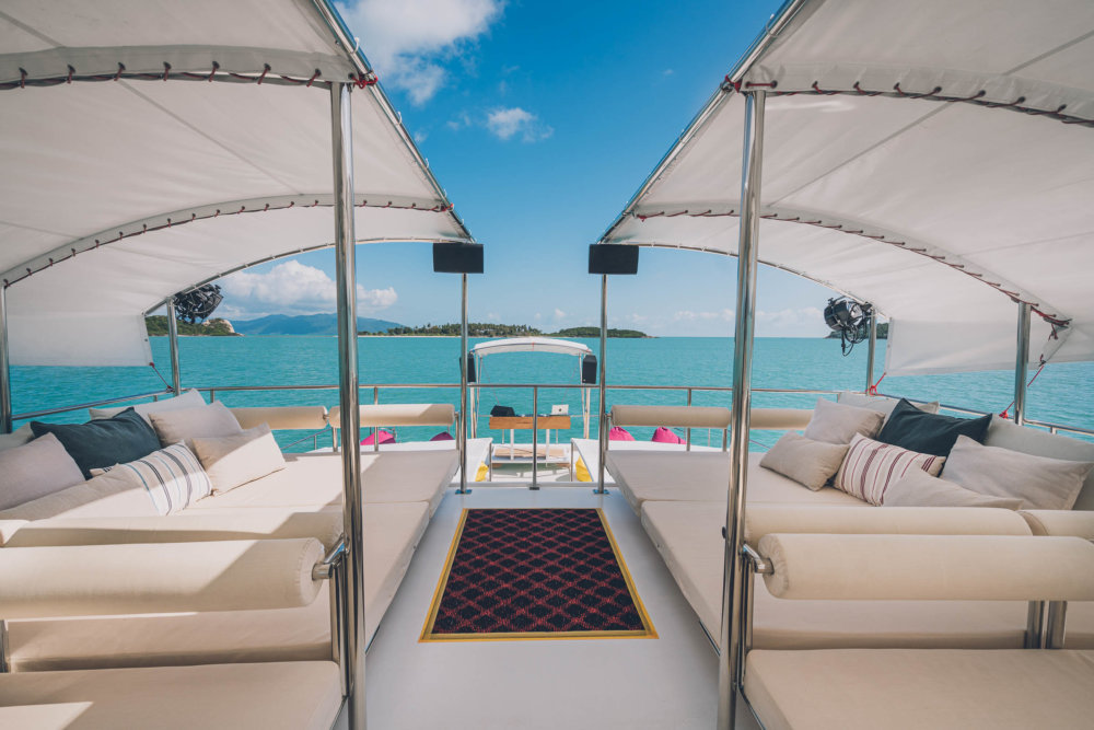 Luxury Entertainment Catamaran – unique custom made project – NOW for SALE!