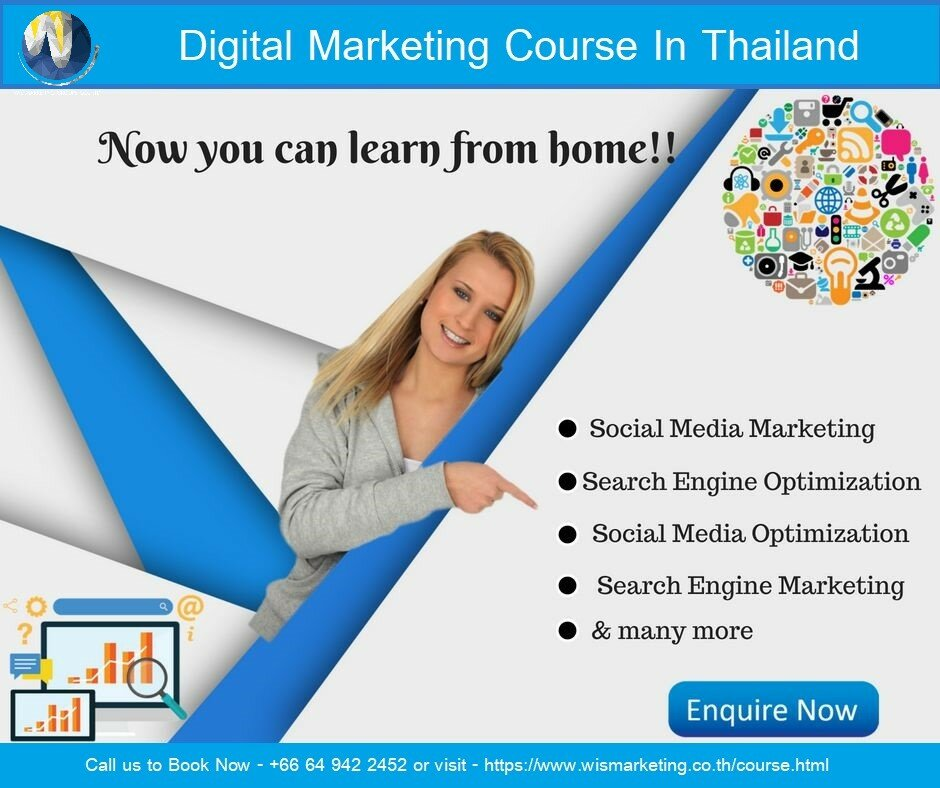 Why your Business Needs Digital Marketing Services? Digital Marketing Courses In Thailand