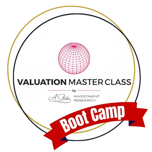 6 week valuation master class with Dr. Andrew Stotz, PhD, CFA