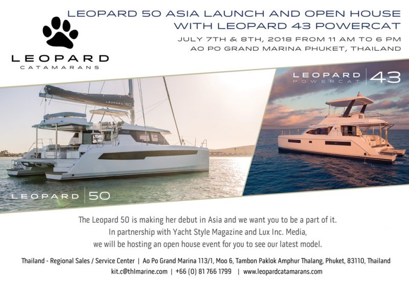 Leopard 50 Asia Launch and Open House