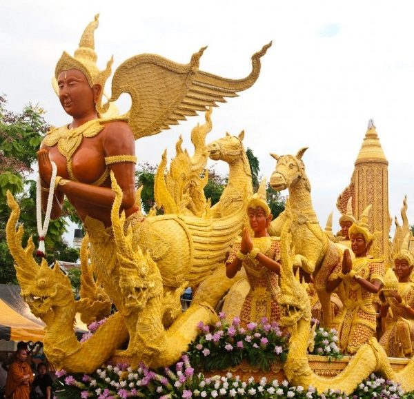Ubon Ratchathani International Candle Festival 2018