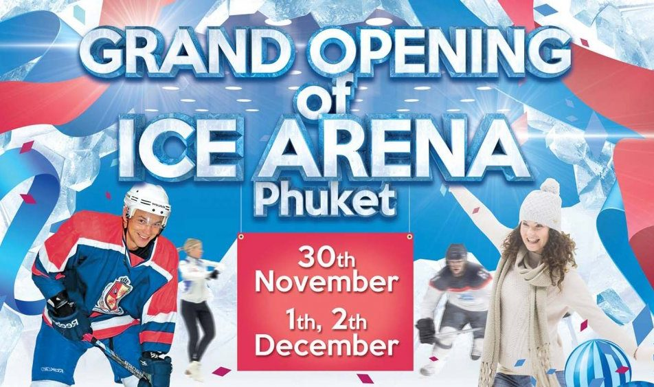 Grand opening of Ice Arena, Phuket.