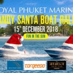 Sandy Santa Boat Rally at Royal Phuket Marina
