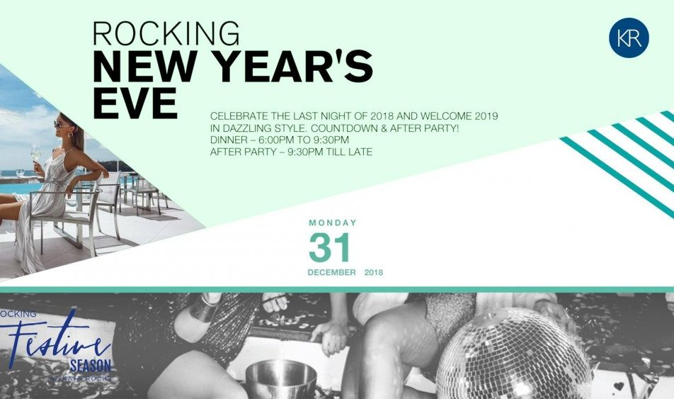 Rocking New Year's Eve Dinner & Countdown Party