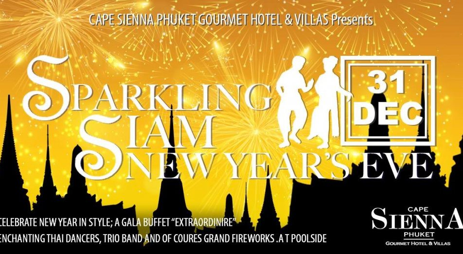Sparkling Siam New Year's Eve 2018 @Cape Sienna