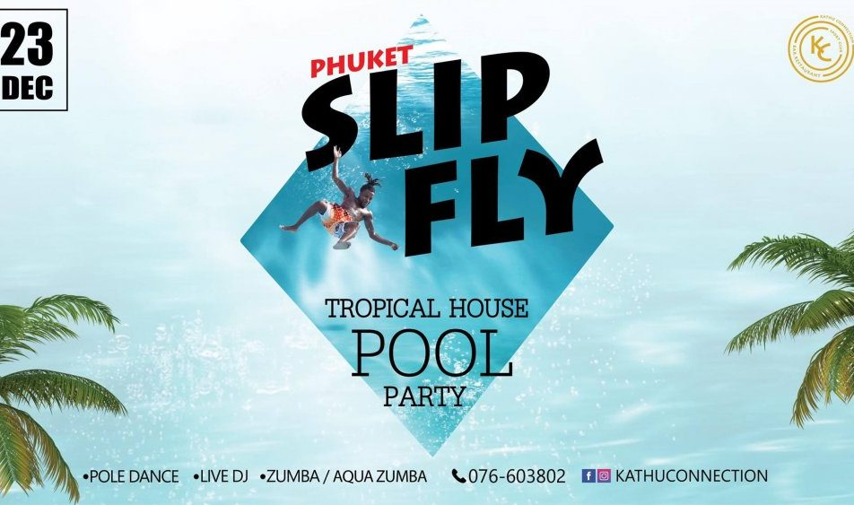 Tropical House Pool Party @KC Kathu Connection Club