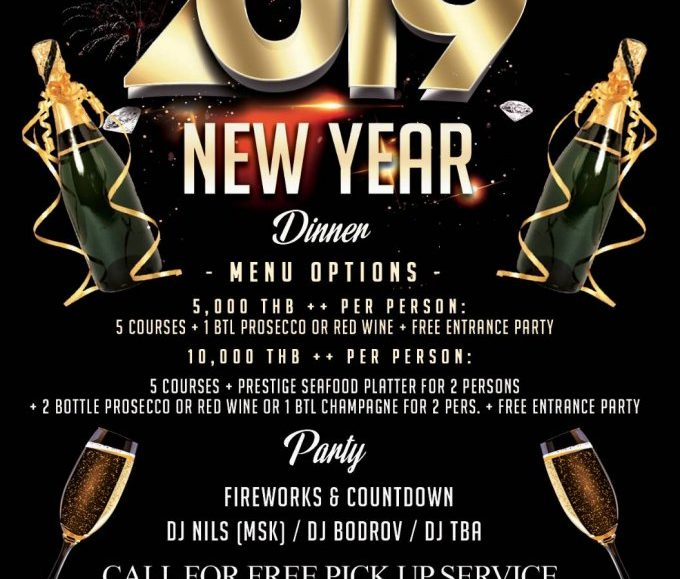 New Year's Eve Party 2019 @White Box Restaurant