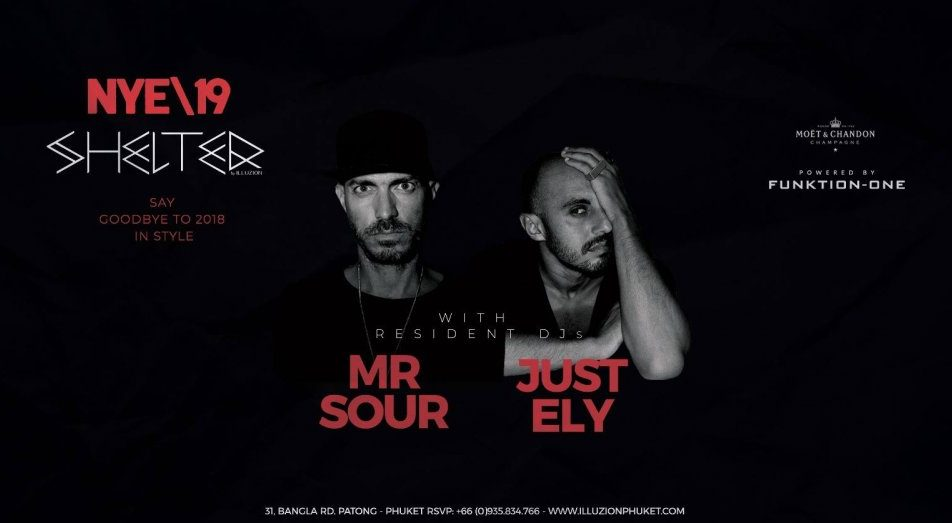 New Year's Eve 2019 ϟ Mr. Sour x Just Ely ϟ MON 31 DEC
