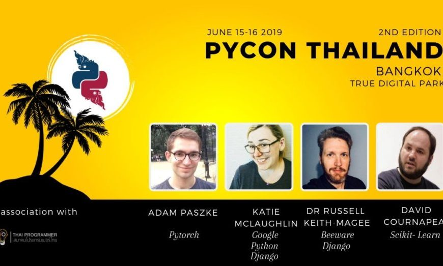 Pycon Thailand 2019 | Event in | Thaiger Events