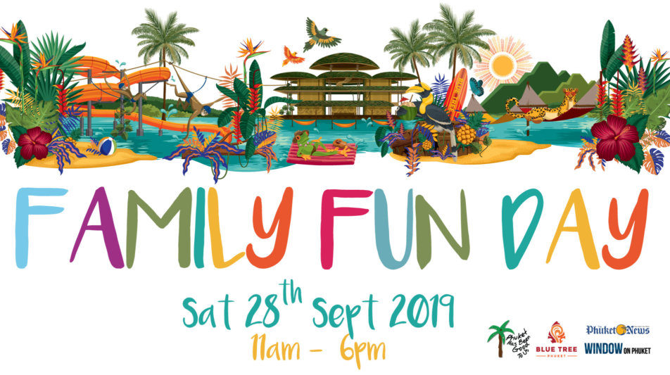 Family Fun Day at Blue Tree Phuket