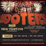 Countdown to 2020 at Hooters