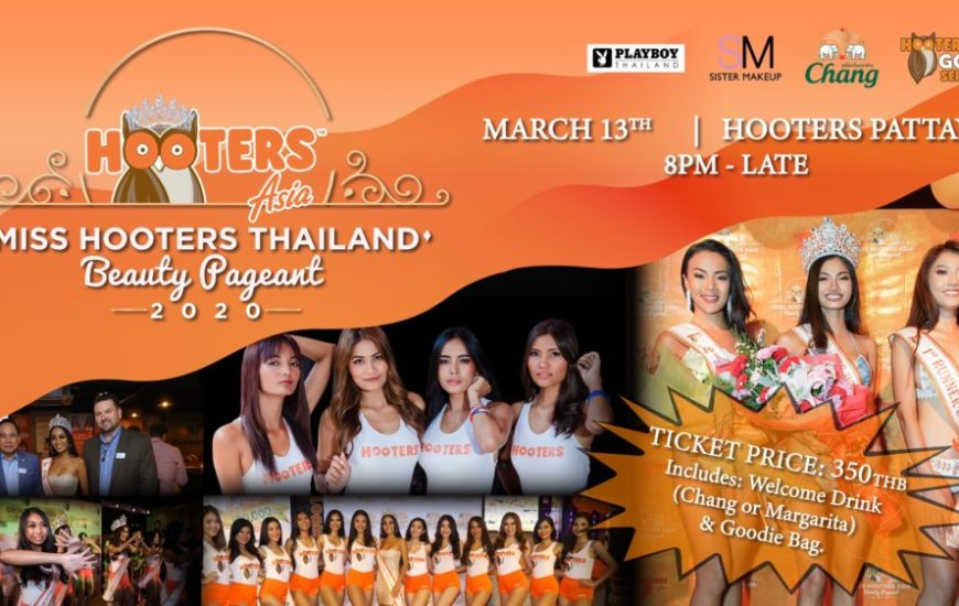 Miss Hooters Thailand Beauty Pageant
