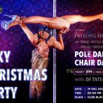 Sexy Christmas Party with Pole Dance Show