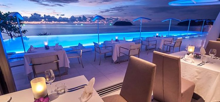 The Oceanfront Restaurant and Bar at Kata Rocks