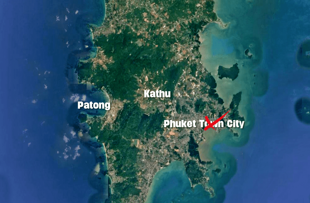 A tale of two cities, Phuket style   News by Thaiger