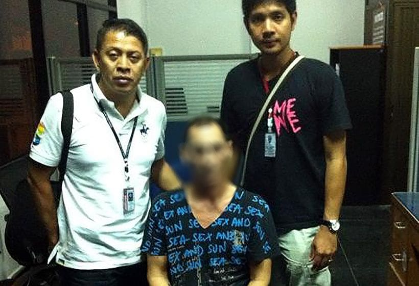 Drunk looking German busted for meth in Phuket   The Thaiger